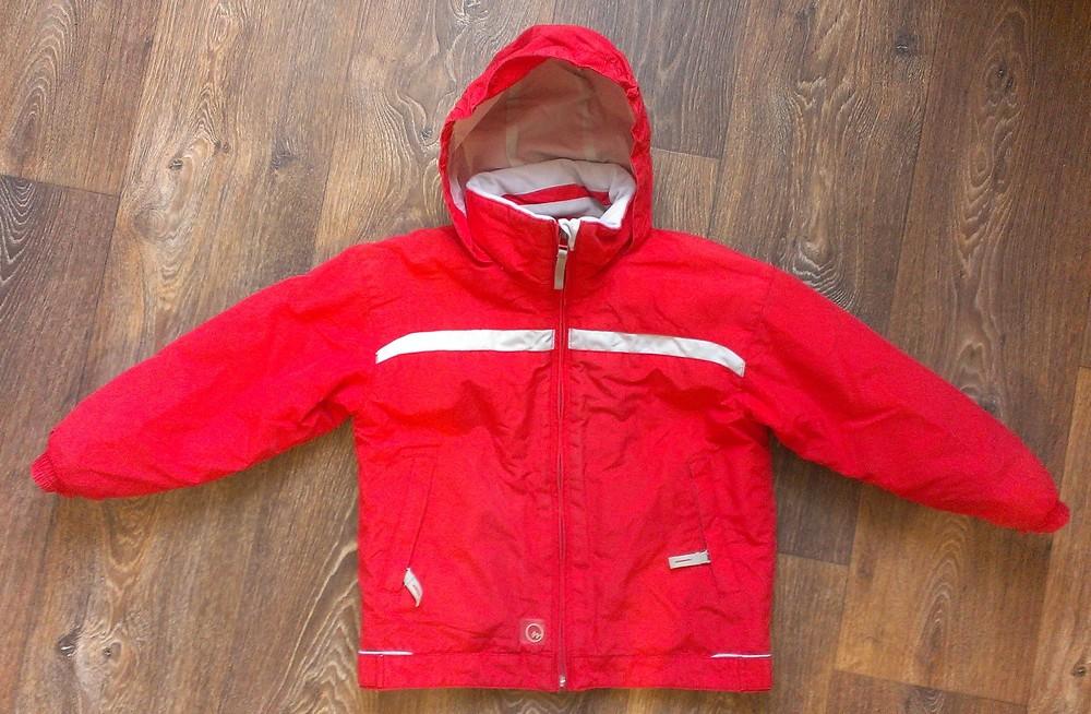 р.116, всесезонная термо-куртка, на 6 лет, в идеале фото №1