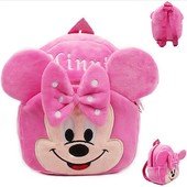 Детский плюшевый рюкзак