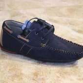 Туфли мокасины 2 цвета Т107
