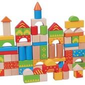 Конструктор «Разноцветный городок» Lelin 65-005 (100 деталей)