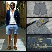 100% лен.M&S Luxury.Мужские шорты.Бриджи.