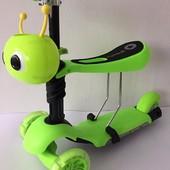 Детский трехколесный самокат Scooter 5in1