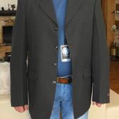 Пиджак мужской тёмно серый. Besonder. Германия. 52 размер.