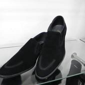 Замшевые туфли 44 разм.