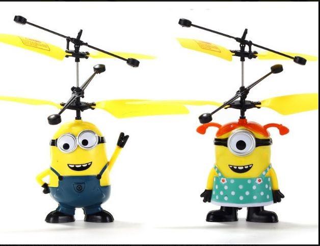 Акция - летающий миньон минион в виде мальчика и девочки фото №1