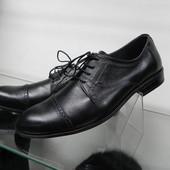 Кожаные туфли 39,40 разм.
