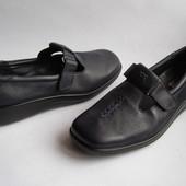 Новые кожаные туфли Hotter, р.41 – 26см.