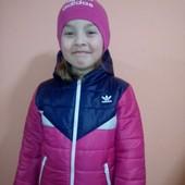 Курточка Adidas  р 3-4 последний размер