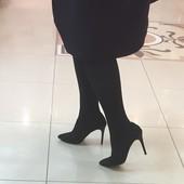Классические замшевые туфли Angels collection р. 37 по стельке 24 см