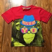 Новая футболка Bluezoo на 5-6 л.