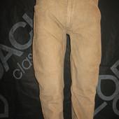 Джинсы микровельвет, штаны Easy размер W32.L32