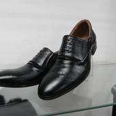 Кожаные туфли 39 разм.