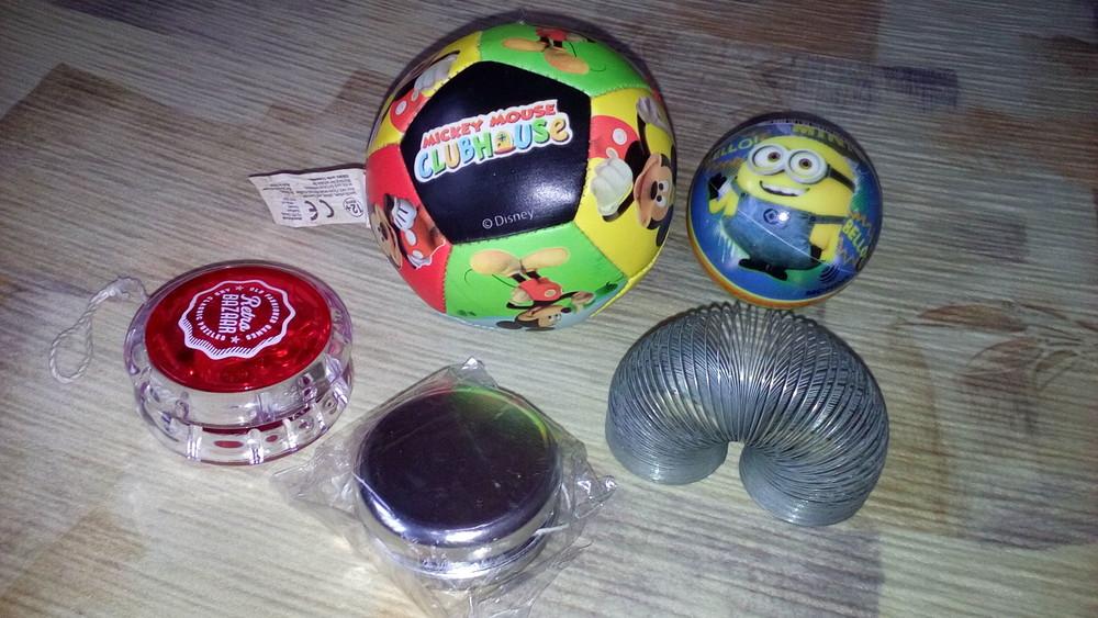 Игрушки мячик фото №1