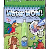 Melissa&Doug Многоразовая водная раскраска изучаем Животных on the go water wow animals Bbook