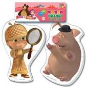 Baby puzzle Vt 1108-04 Маша и свинка(Макси пазлы) 210*360 Vladi Toys
