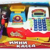 Детский кассовый аппарат 7162 Мини касса Play Smart