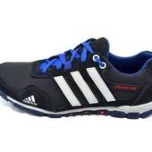 Мужские кроссовки Adidas CсimaCool  синие (реплика)