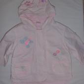куртка ветровка дождевик на 6-9 мес