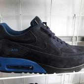 Стильные кроссовки Air Max  Кожа и замш