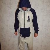 American Freshman слип трикотажный, пижама человечек с капюшоном рL