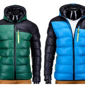 Мужская зимняя спортивная куртка на меховой подкладке