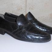 Туфли лоферы натуральная кожа. Размер 42 (28,5 см)