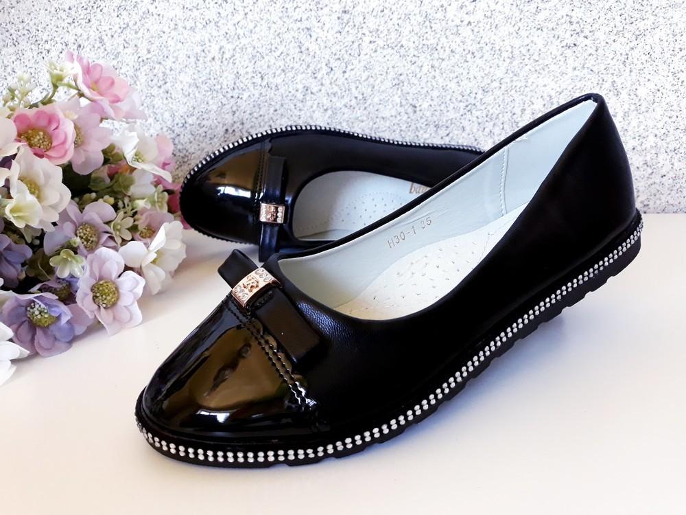 Туфли на девочку 35 размер фото №1