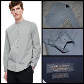 Zara Man.Slim Fit.100% коттон.Крутая рубашка.