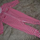 флисовая пижама слип Mothercare  18-24 мес идеале рост 86-92 см