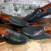 Мужской кожаный мокасин, стильно, качественно и по приятной цене! Лучшая обувь для вас, 40-45