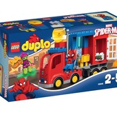 Lego Duplo Приключение на грузовике Человека-паука 10608