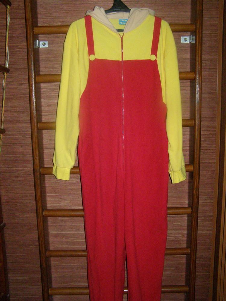 Пижама флисова, мужская, размер XL рост до 190 см, состояние новой фото №1