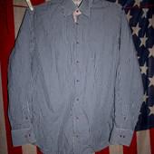 Рубашка мужская Ledub размер M-L состояние отличное