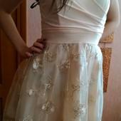 Выпускное нарядное  платье 46-48 размер