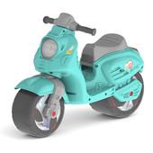 Скутер 502 беговел Орион бирюзовый