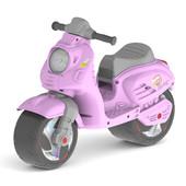 Скутер 502 беговел Орион розовый