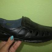 Чоловічі літні туфлі шкіра 40-45