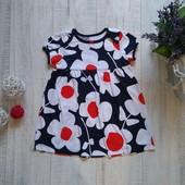 1-1/5 года Яркое трикотажное платье Carters