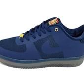 Кроссовки Nike Air Force Low cmft lux синие (реплика)