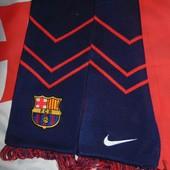 Спортивний оригинал фирменний шарф Nike Ф.к Барселона