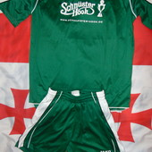 Спортивная фирменная  футбольная форма комплект Jako.м-л .