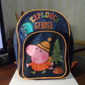 рюкзак рюкзачок свинка Пеппа пиг и динозаврик Peppa Pig
