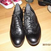 (№і478)фирменные кожаные туфли 41 р Италия