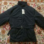 Куртка мужская черная зимняя новая рабочая.