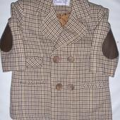 Стильное пальто-пиджак на 12-18 мес
