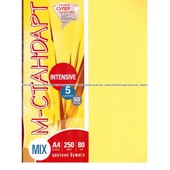 "Бумага цветная ""М-Стандарт"" A4 mix  (5 цв.*50л) 250л 80г 163163"