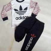"""Костюм спортивный """"Adidas"""". Турция! 98-122cm."""