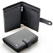 Мужской кожаный кошелек правник Sergio Torretti В наличии разные модели