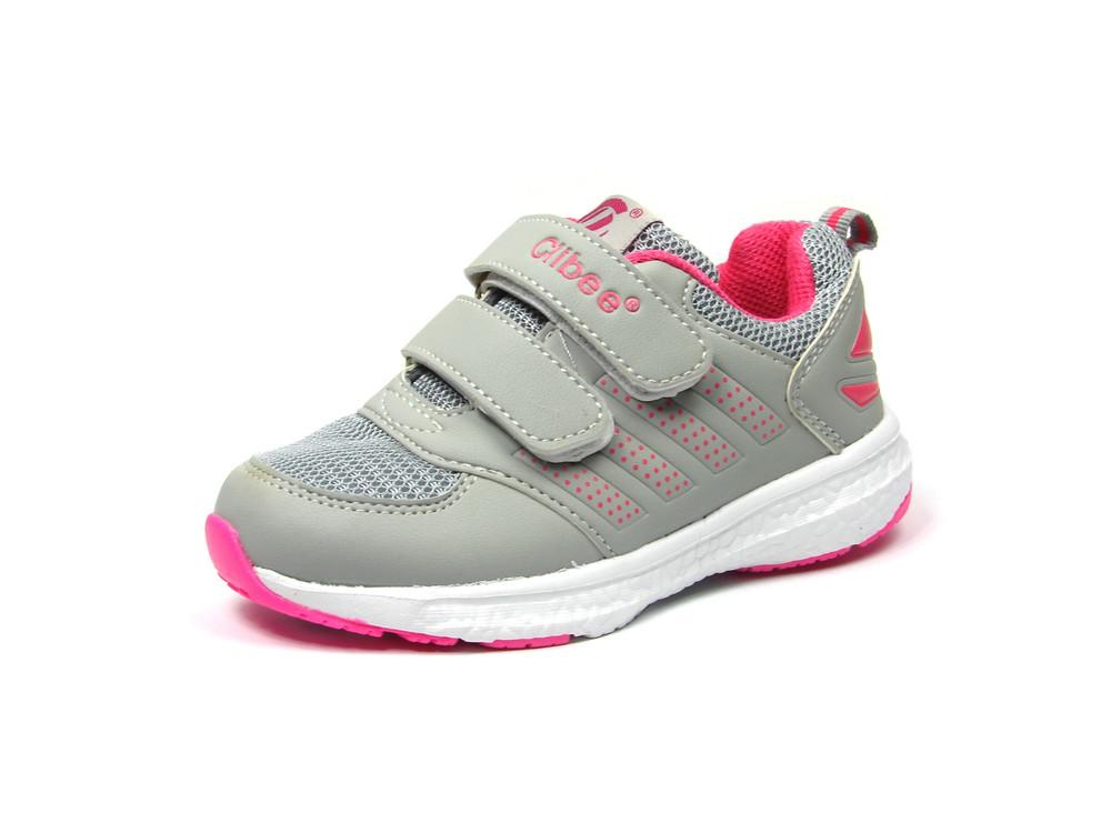 56bbb3106038 100-f-6091, новая модель! детская спортивная обувь кроссовки для девочки,  clibee, размеры 26-31