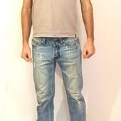 900 Мужские джинсы Adidas с декоративными дырками